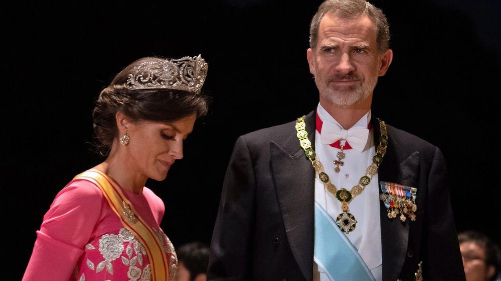 Foto: Los Reyes de España, en Japón. (EFE)