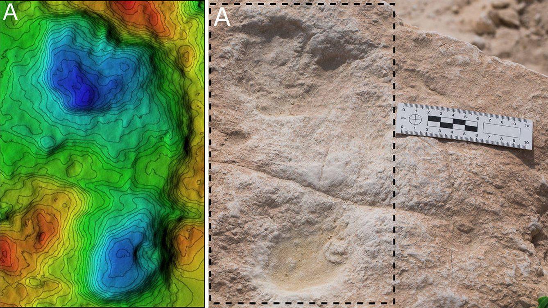 Encuentran huellas de Homo sapiens de 120.000 años de antigüedad