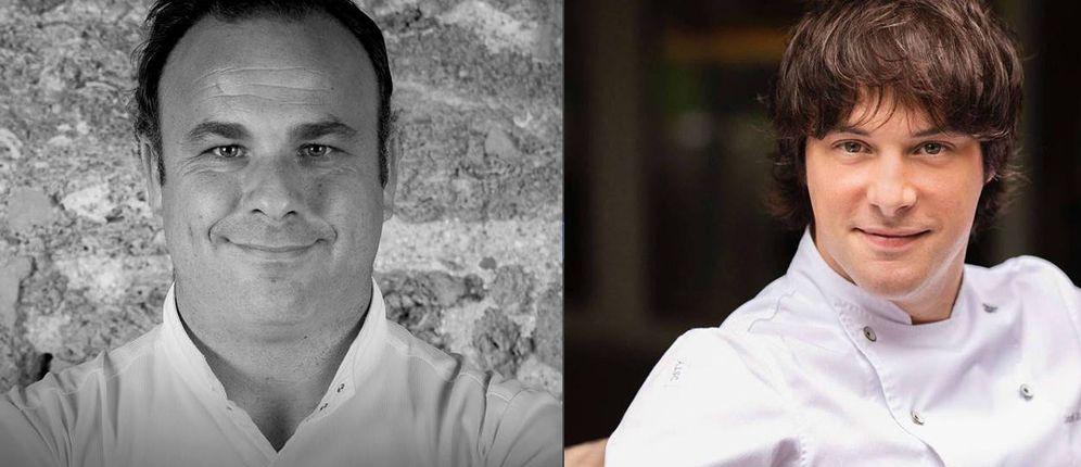 Foto: Ángel León y Jordi Cruz.