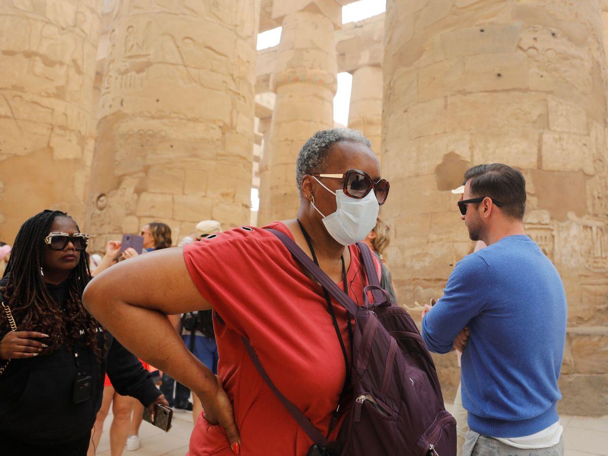 Foto: Turistas en Egipto. (Reuters)