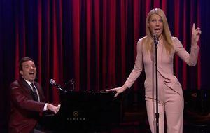 Gwyneth Paltrow versiona con glamour temas de rap