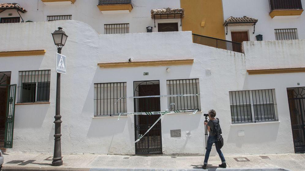 Foto: Fachada de la casa del barrio bajo de Arcos de la Frontera (EFE)