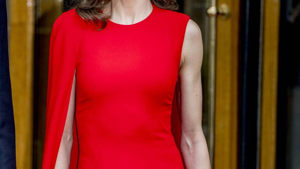 Esto es lo que cuesta el vestido rojo de Stella McCartney que llevó Letizia