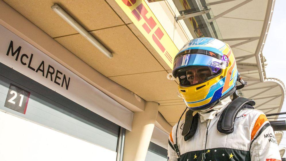 Foto: Fernando Alonso en el circuito de Sakhir. (EFE)
