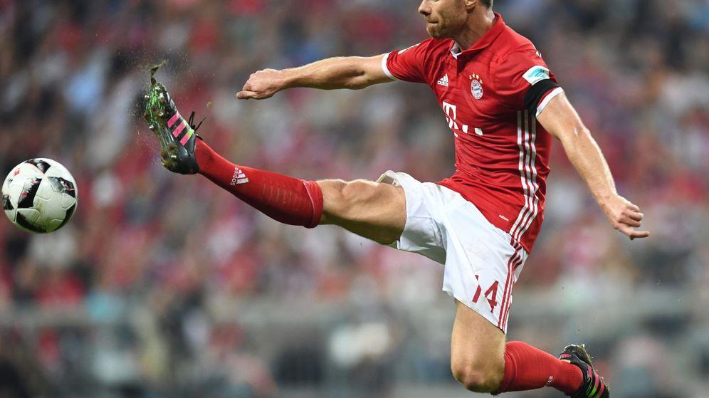 Foto: Xabi Alonso, futbolista del Bayern de Múnich. (EFE)