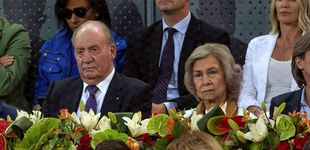 Post de Los Reyes eméritos, de nuevo juntos: esta vez en el tenis apoyando a Nadal