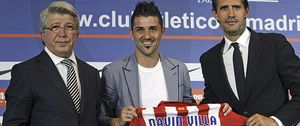 """Villa: """"El Atlético de Madrid supo darme con palabras y hechos el cariño que necesitaba"""""""