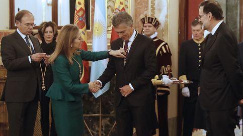 Macri, ovacionado en el Congreso ante los desplantes de Podemos y ERC