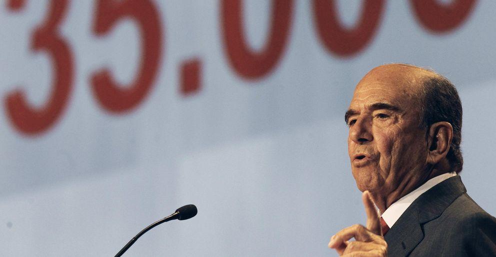 El presidente del Banco Santander, Emilio Botín. (EFE)