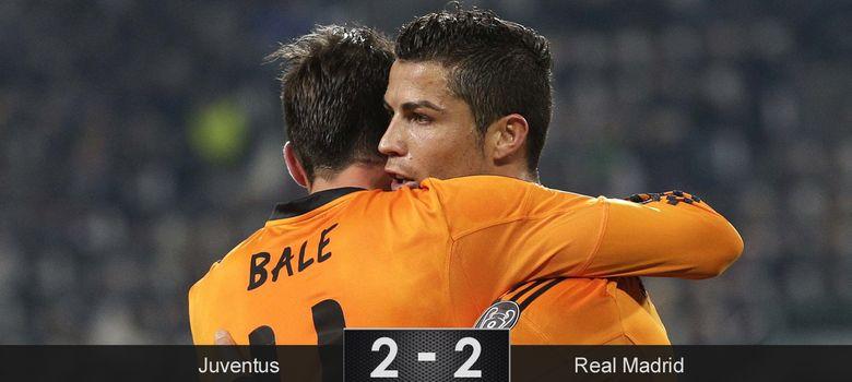 Foto: El poder de Cristiano Ronaldo y Bale salva la cara de Ancelotti