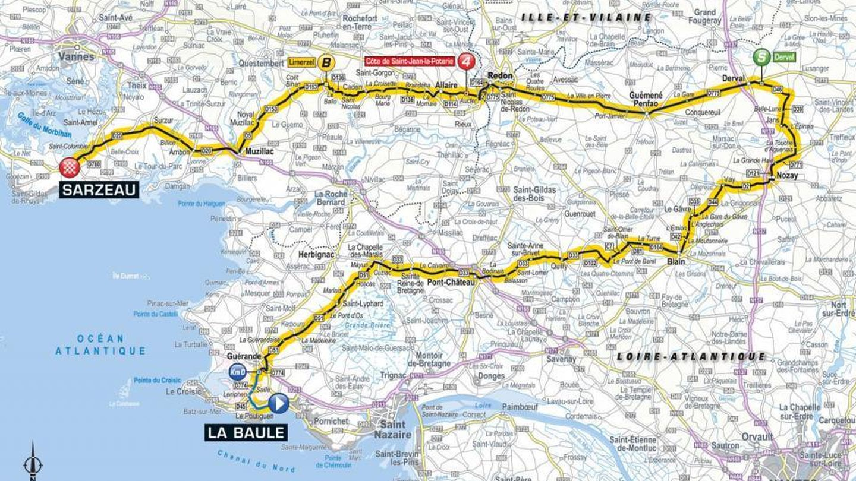 Recorrido de la cuarta etapa | Tour de Francia 2018