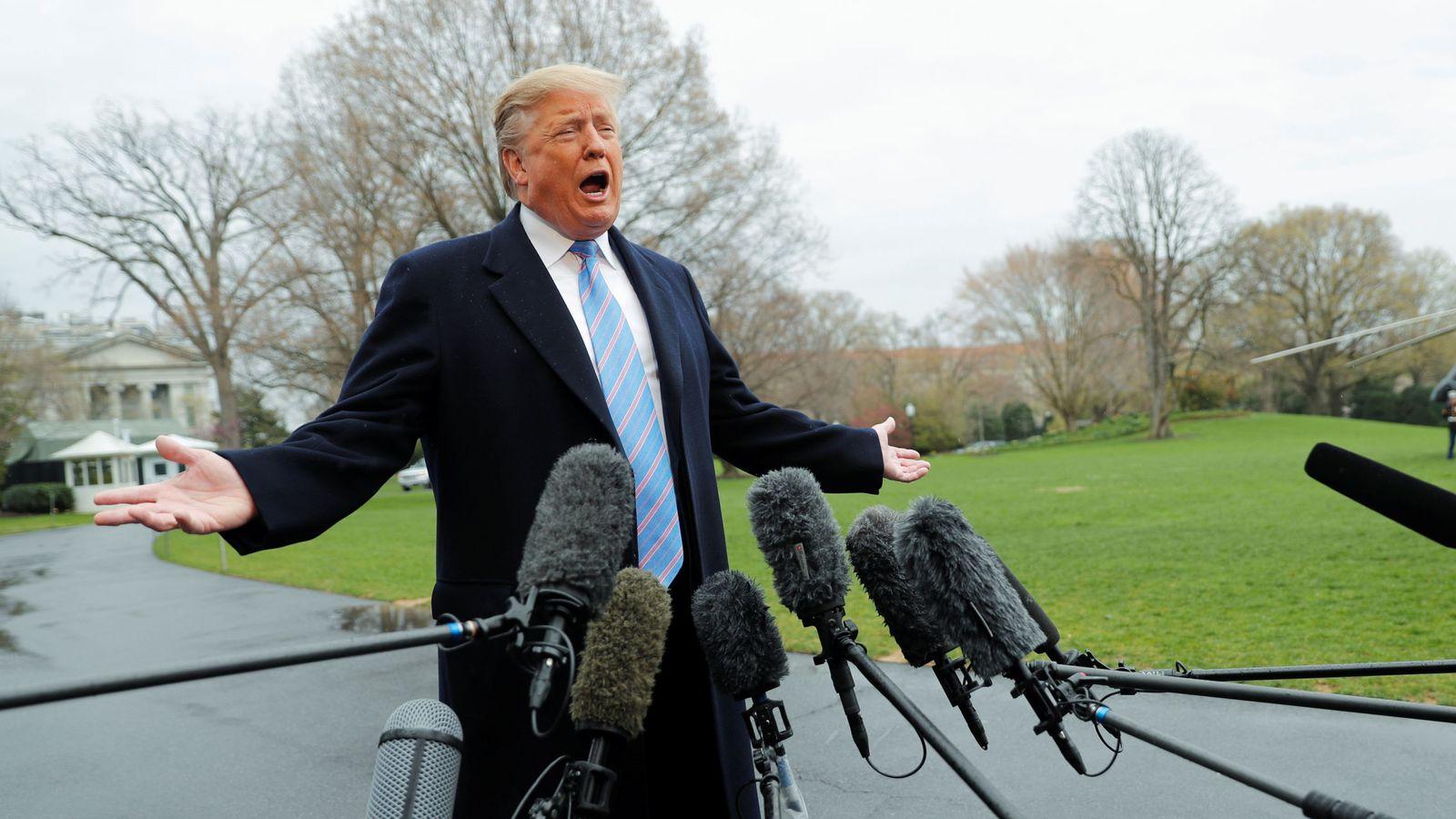Foto: El presidente de EEUU. (Reuters)