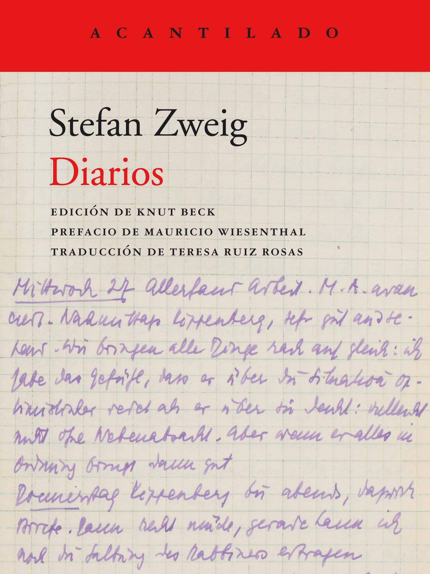 'Diarios' de Zweig (Acantilado)