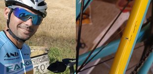 Post de Vueling rompe una bicicleta de 6.000€ a un triatleta de élite y le compensa con 50€
