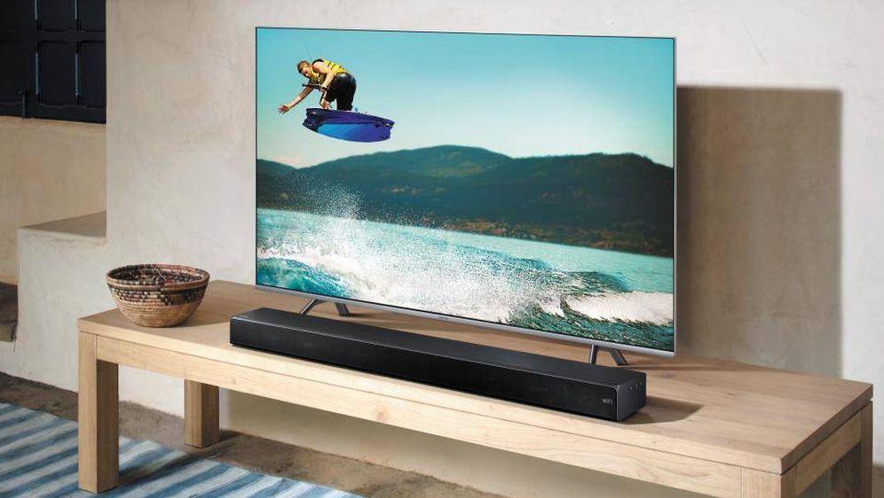 Foto: ¿Cómo elegir una buena barra de sonido? Foto: Samsung.