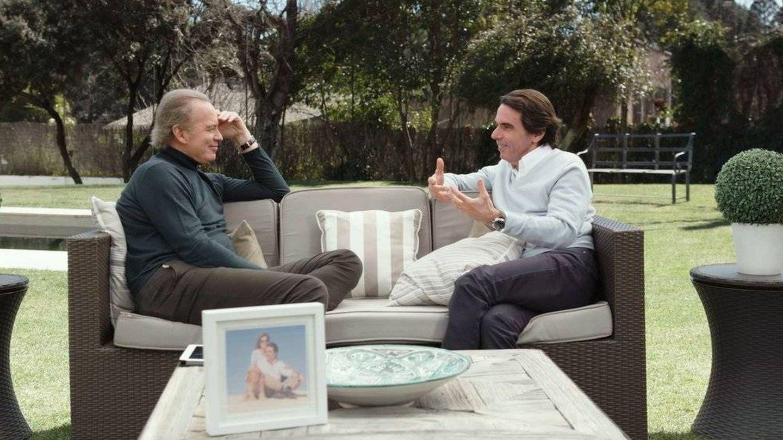 Entrevista a José María Aznar en 'Mi casa es la tuya', de Bertín Osborne.