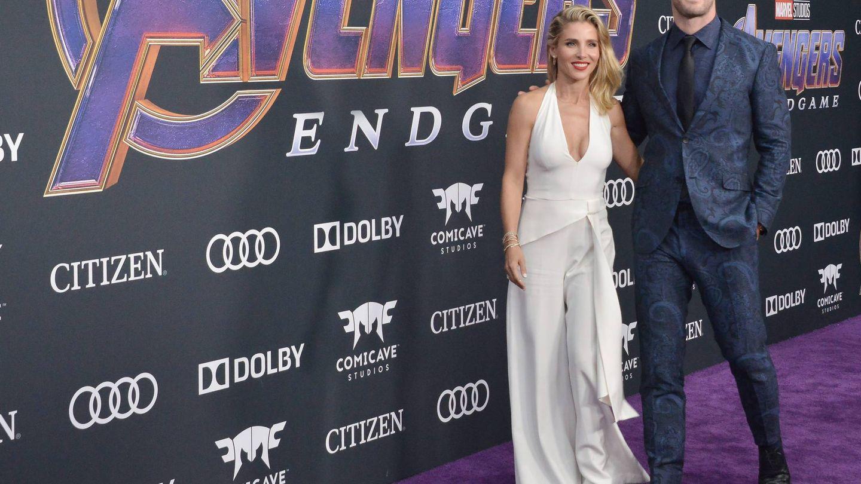 Elsa Pataky y Chris Hemsworth. (Cordon Press)