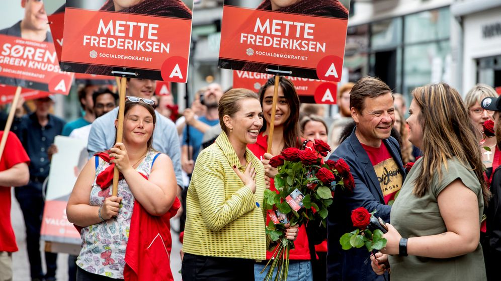 Foto: La líder de los socialdemócratas daneses, Mette Frederiksen. (Reuters)