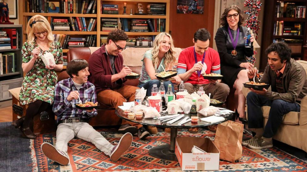 Foto: Imagen del final de 'The Big Bang Theory'. (CBS)