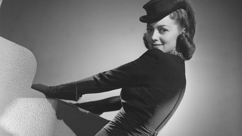 Olivia de Havilland, en una imagen de 1938. (Cordon Press)