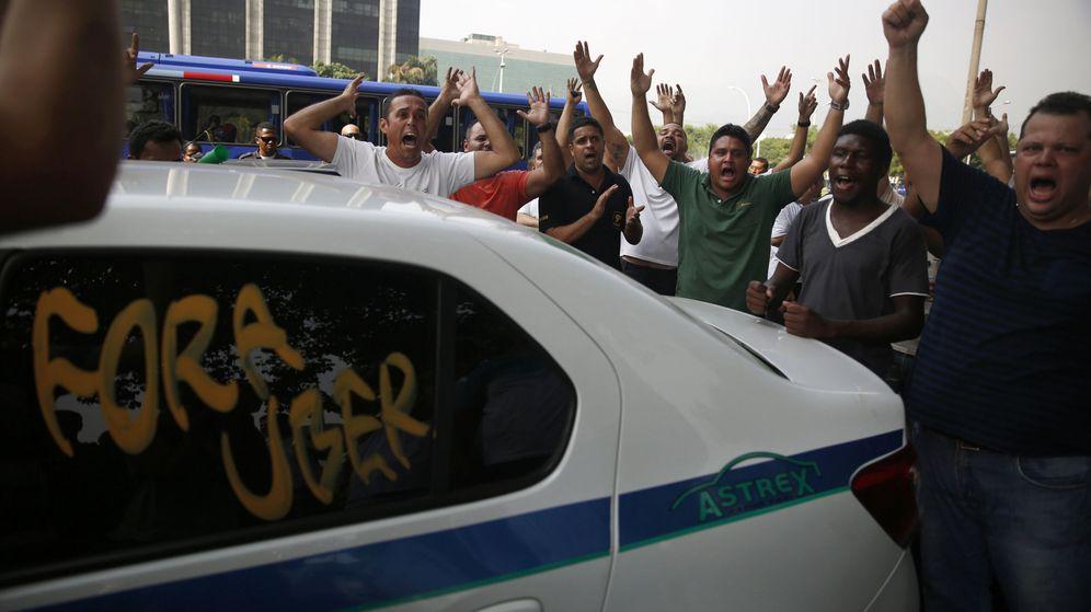 Foto: Las protestas de los taxistas de Río contra Uber han sido constantes en los últimos tiempos (Reuters)