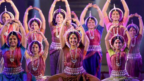 Preparativos para el Holi en India