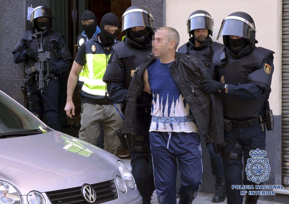 Foto: Operación en la que fue desmantelada una red internacional de captación y envío de yihadistas. (EFE)