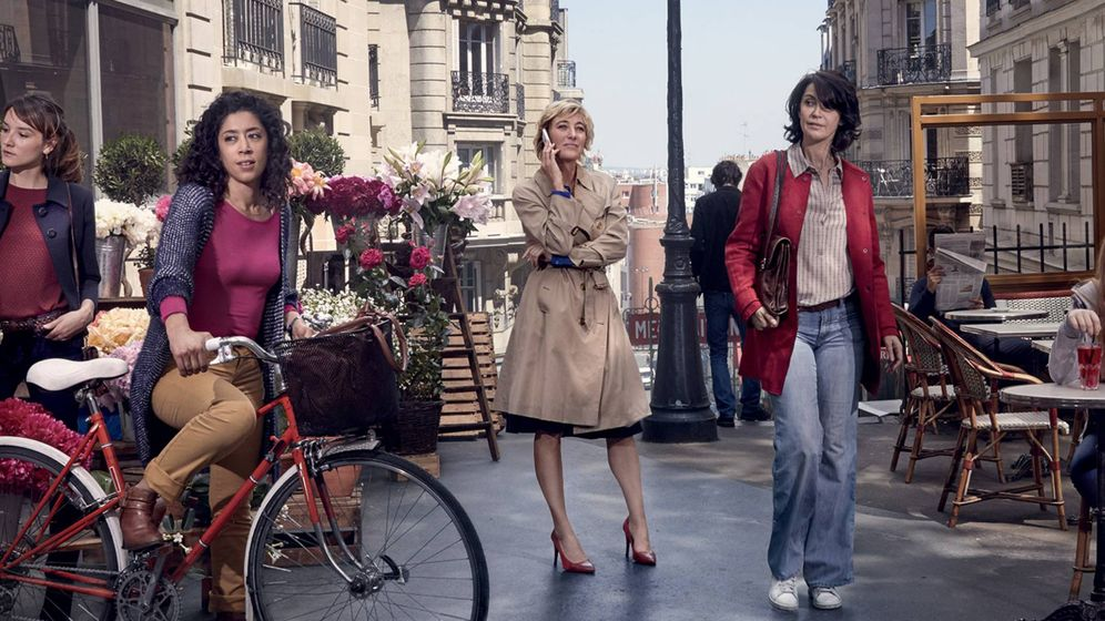 Foto: Las cinco protagonistas de 'Paris, etc'. (Cosmo)