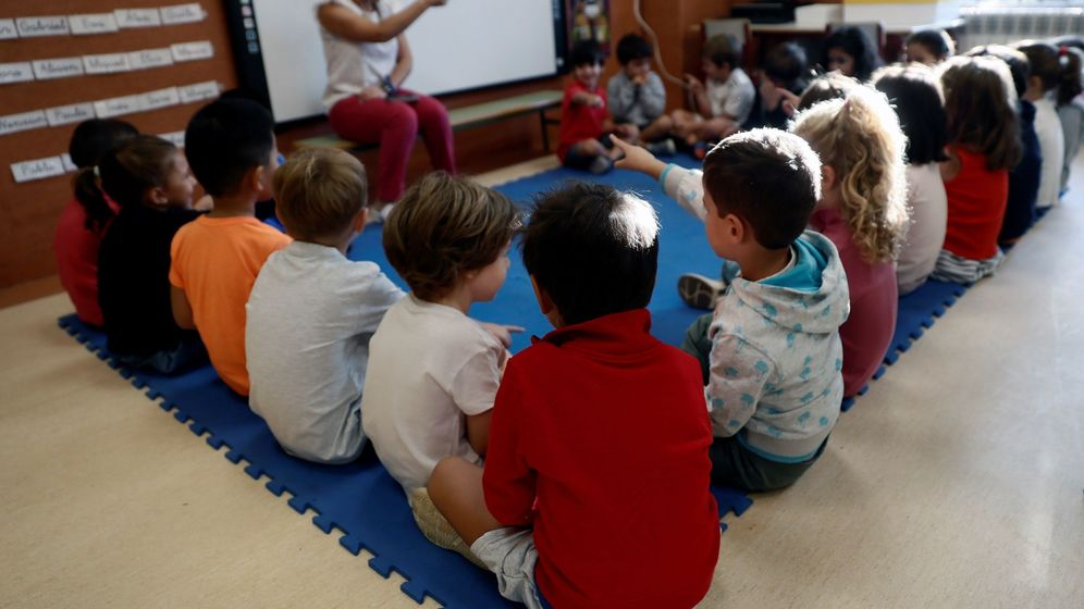 Foto: Alumnos en clase. (EFE)