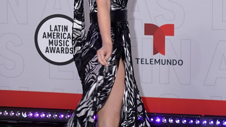 Fabiola Guajardo, en los Latin AMAs. (Getty)