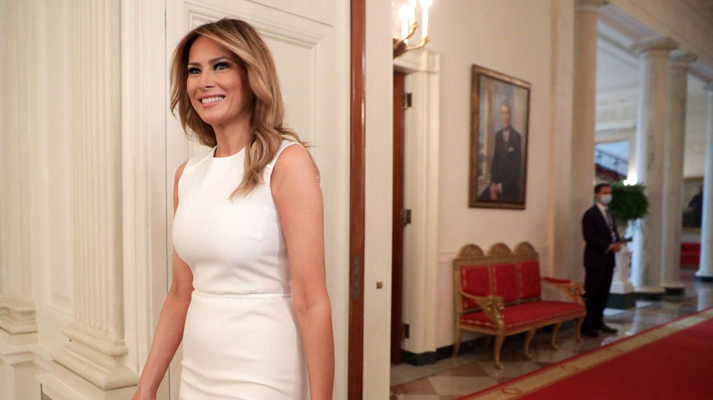 Melania Trump, en la Casa Blanca. (Getty)