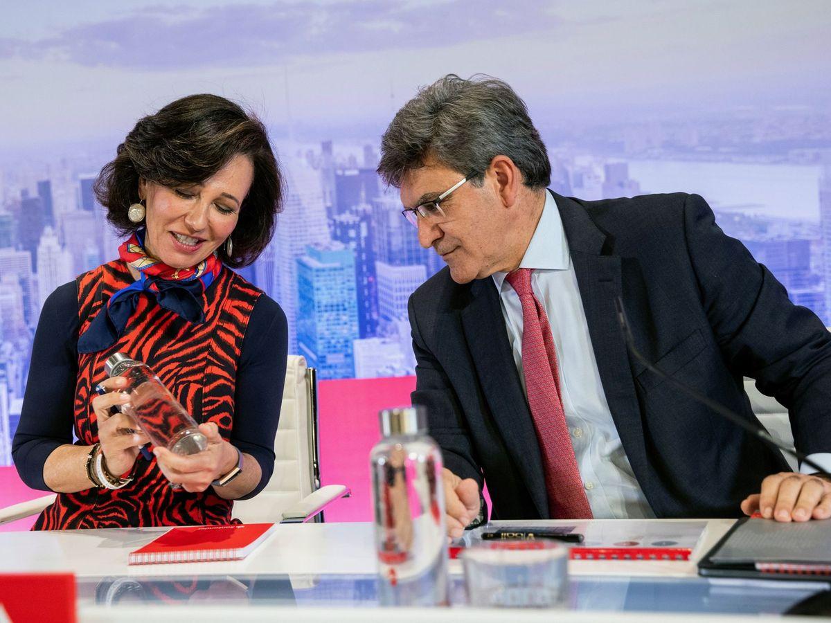 Foto: Ana Botín, presidenta de Santander, y José Antonio Álvarez, CEO. (EFE)