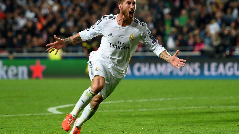 El milagro de Ramos. (Getty)