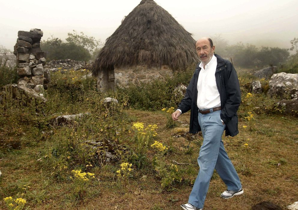 Foto: Alfredo Pérez Rubalcaba ha heredado el 70% de su patrimonio de sus padres (EFE).