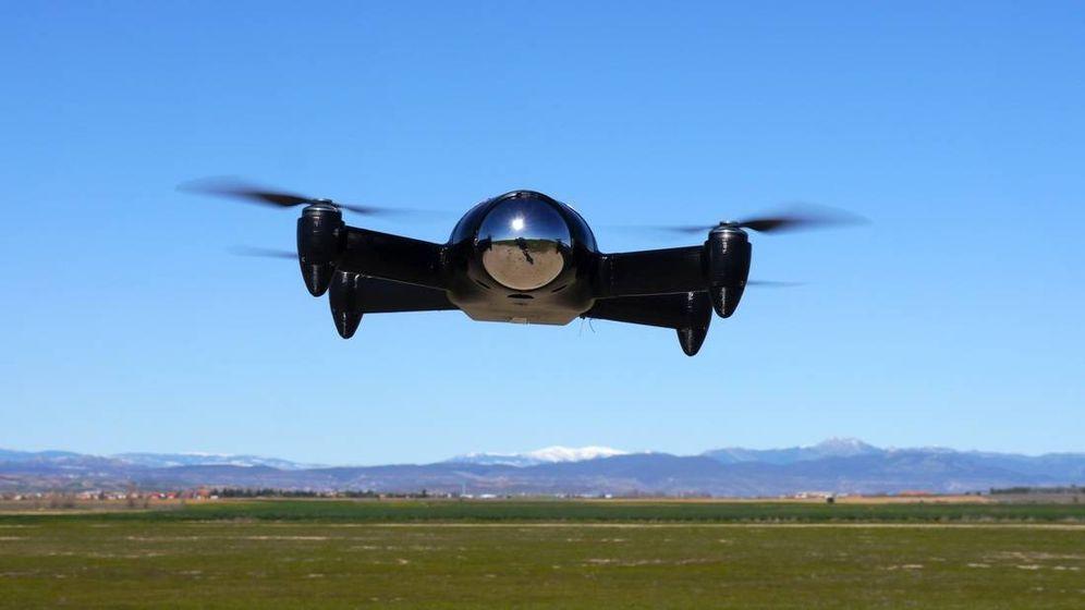 Foto: Uno de los drones de Aerotools.