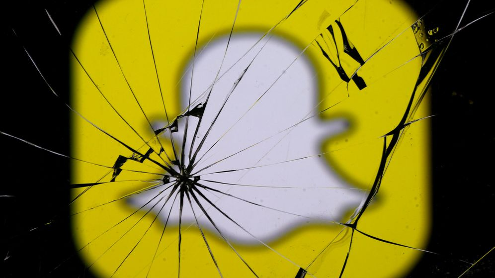Foto: Logo Snapchat. (Reuters)
