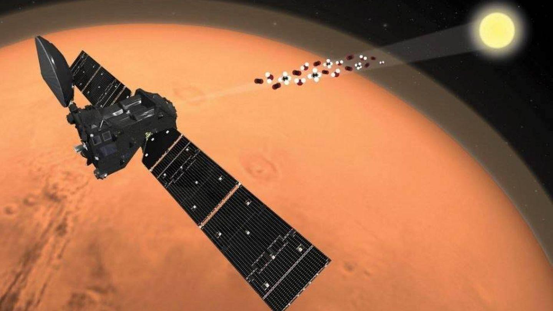 El satélite TGO ha sido el responsable del descubrimiento. (EFE)