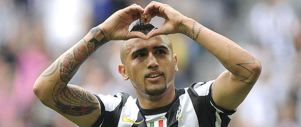 Foto: La llegada de Vidal pasa por un cambio con la Juventus por Higuaín