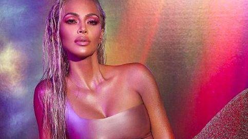 Kim Kardashian celebra su cumple lanzando una colección de maquillaje a todo color