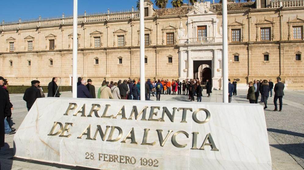Foto: Jornada de puertas abiertas en el Parlamento andaluz (EFE)