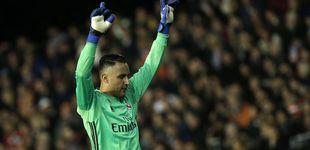 Post de El Santiago Bernabéu pierde la paciencia y señala a Keylor Navas