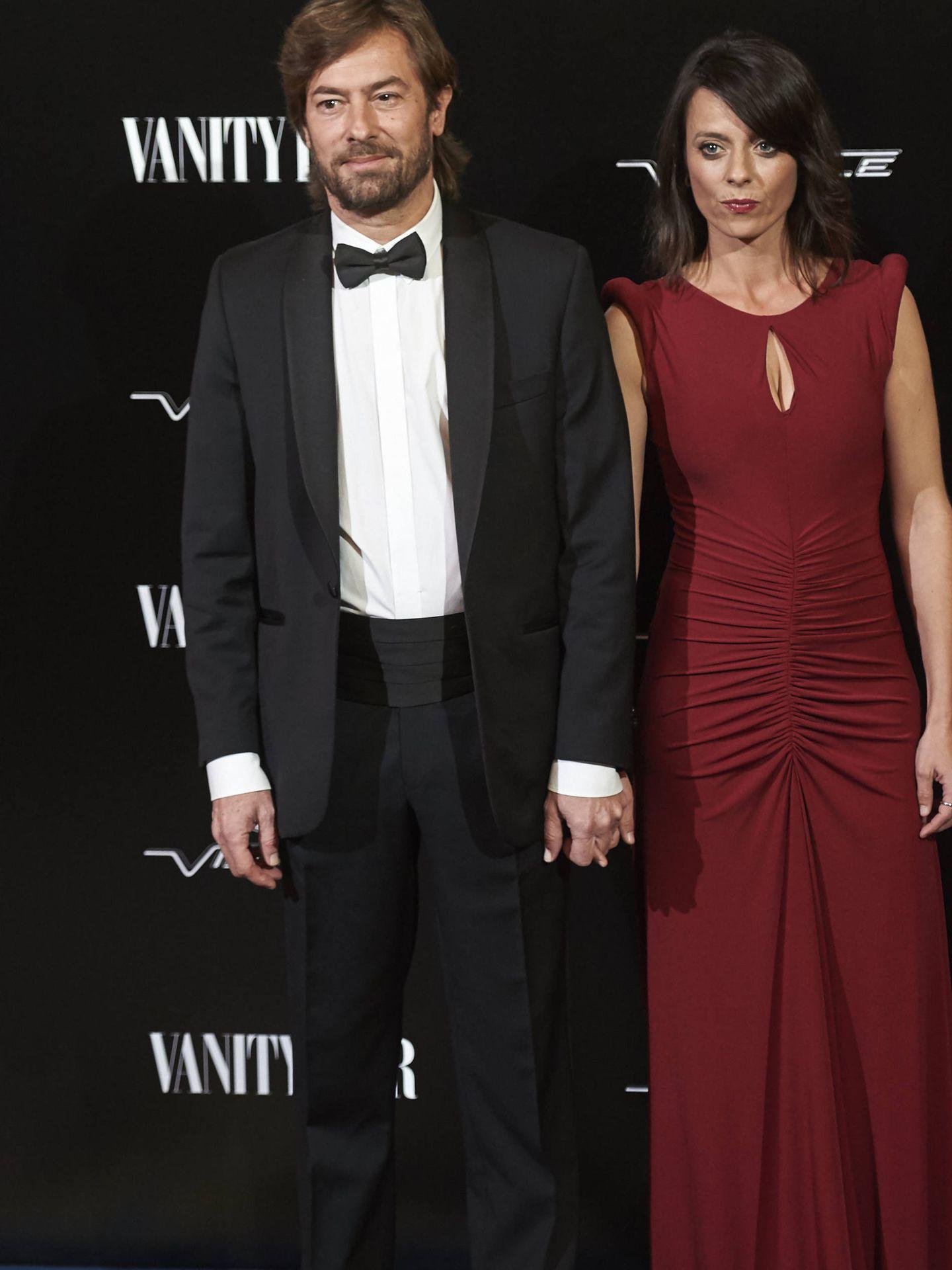 Pedraz junto a Paula Arenas en los Vanity Fair de 2015. (Getty)