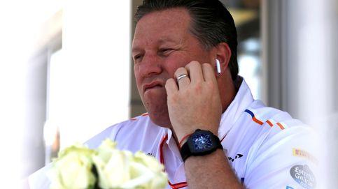 Zak Brown cuestiona con un raquetazo tras otro el egoísmo de Ferrari y Mattia Binotto