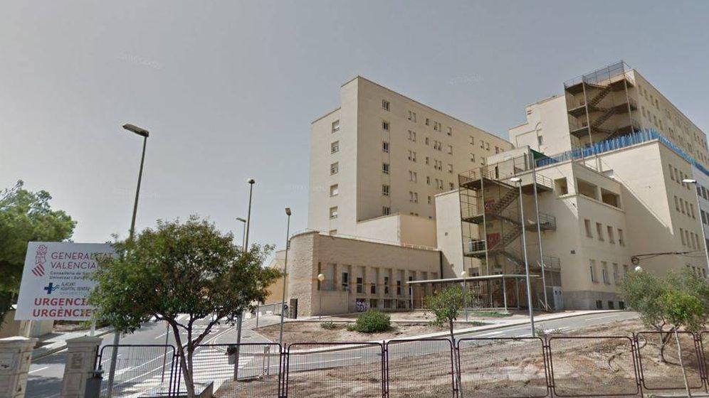 Foto: Hospital General de Alicante.