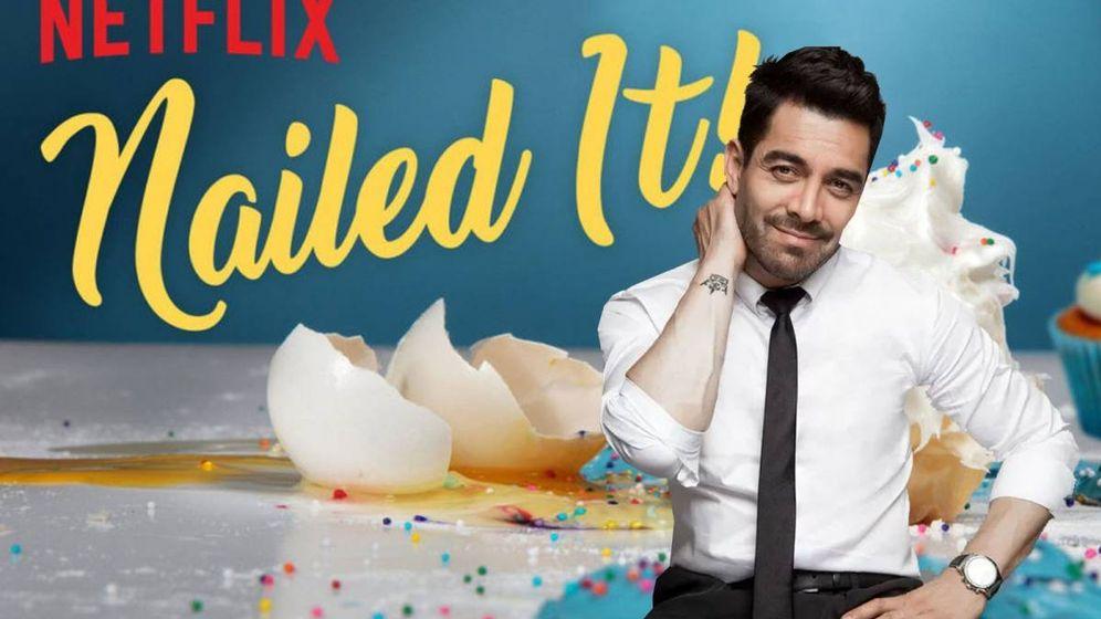 Foto: Omar Chaparro presenta la versión mexicana de 'Nailed It!'. (Netflix)