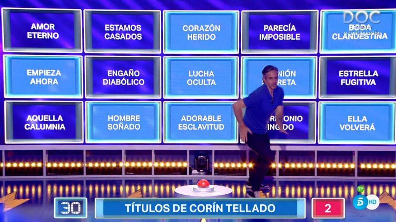 Paco de Benito resolviendo un panel en 'Alta tensión'. (Mediaset España)