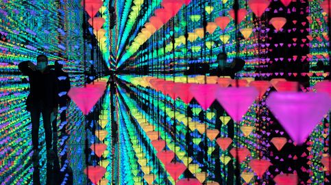 Vista de la obra 'Diamond matrix'