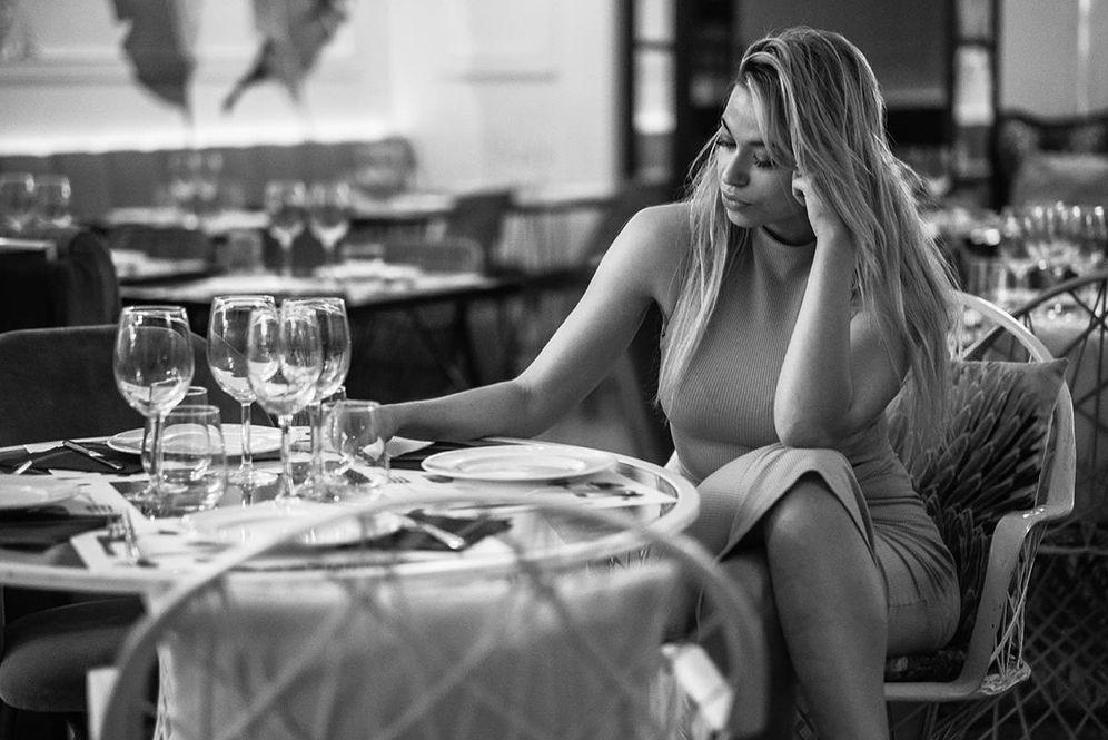 Foto: Mejor cenar sola que mal acompañada. (Foto: Jaime Salom)