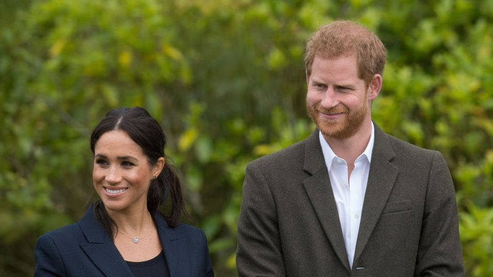 Foto: Meghan y Harry. (Reuters)