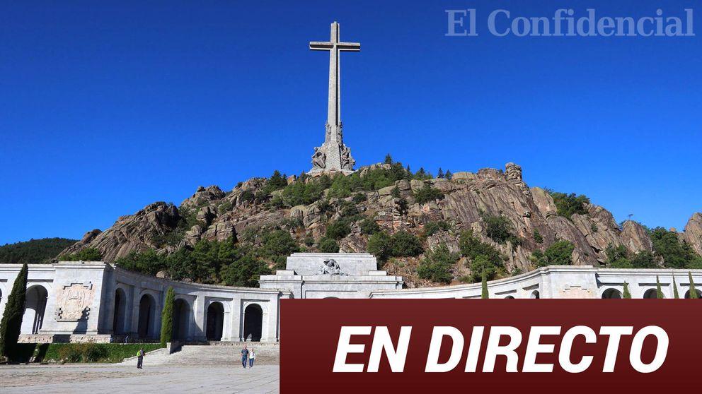 La exhumación de Franco del Valle de los Caídos, en directo: sigue en 'streaming' el traslado a Mingorrubio